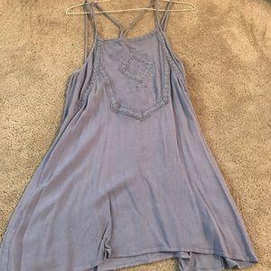 L.A. Hearts Blue Babydoll Dress